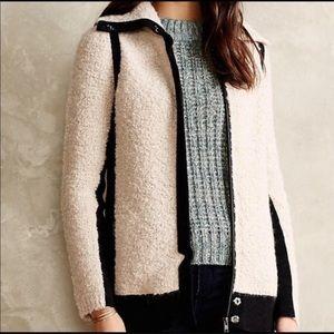 Anthropologie | Sparrow Wool Mohair Fuzzy Jacket